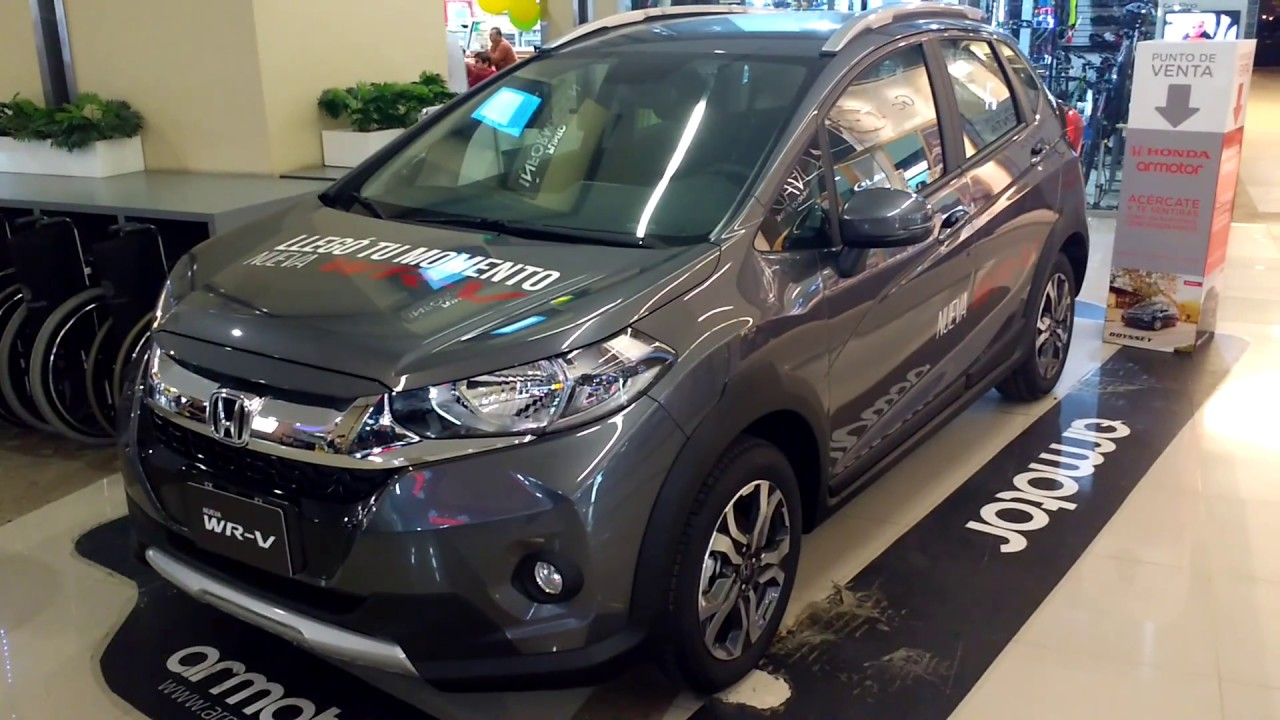 Honda WR-V 2018 La mejor Mini Suv - YouTube