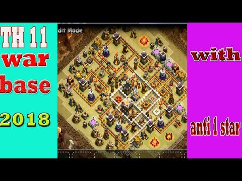 TH 11 War Base 2018  | Clash Of Clans
