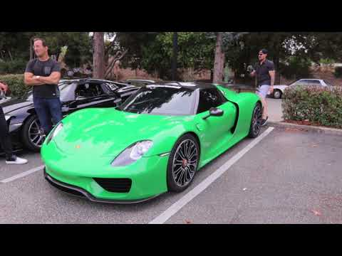A small drive with friends turns in to a $15million supercar cruise!