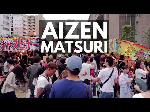 My first Japanese summer festival for 2017 | Aizen Matsuri, Osaka | Japan Vlog 16 | Lin Nyunt
