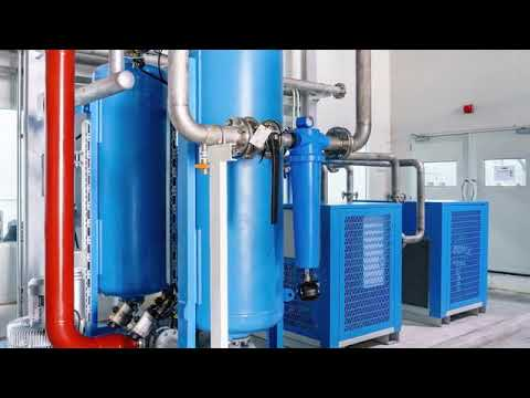 Industrial Chillers - Dry Air Systems - Air Compressors