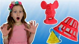 Не попадись в мышиную ловушку! Видео для детей от Ulyana's Empire.