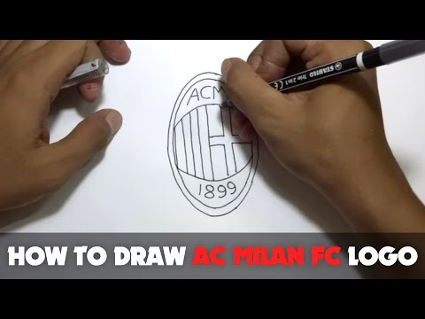 How to Draw a Cartoon - AC Milan FC Logo (Tutorial Step by Step) from YouTube · Duration:  2 minutes 56 seconds