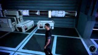 Let's Play Mass Effect - 03 (JC, It's A Desk Lamp, Cut The ... Only Wire, Giant Tax Payer Flower)