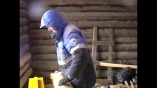 Установка ПВХ окон в рубленый дом. Installation of PVC windows in the log house.(Один из способов установки окон ПВХ в рубленный дом своими руками....., 2015-12-30T20:10:51.000Z)