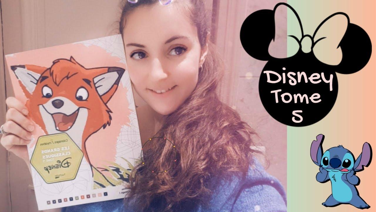 Coloriage Disney Tome 5.Le Retour De Stitch 0 Disney Tome 5 Youtube