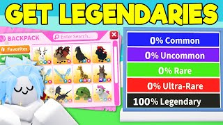 6 EASY Ways T๐ Get LEGENDARY PETS in Adopt Me (Roblox)