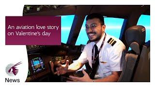 An Aviation Love Story on Valentine's Day   Qatar Airways