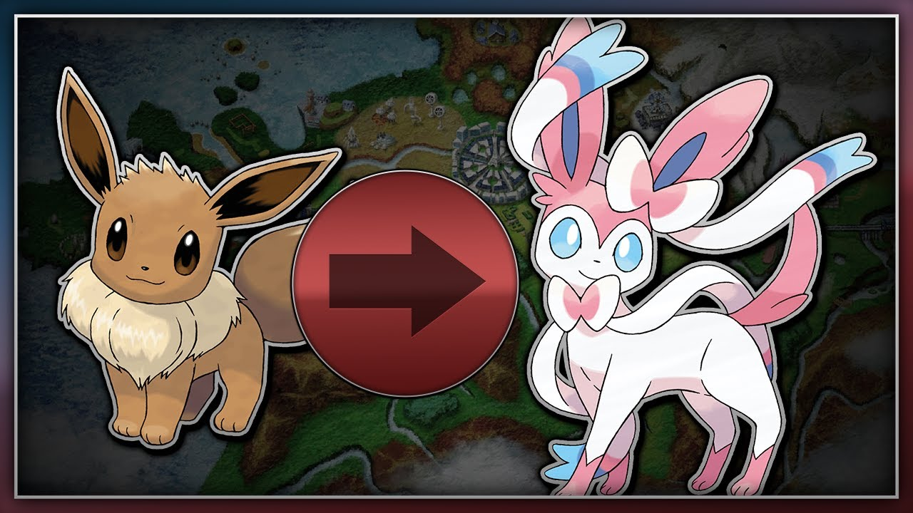also pokemon  and  how to evolve eevee into sylveon youtube rh