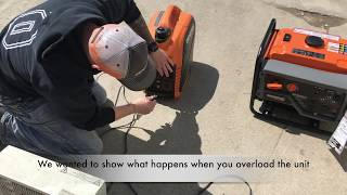 What Happens when you Overload a Generac GP2200?