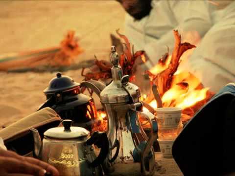 شعر القهوة العربية