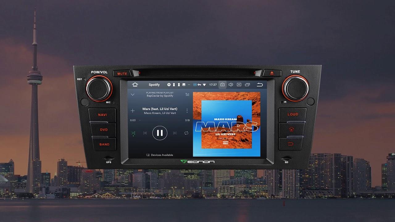 Eonon New Release for BMW E90/91/92/93 | Android 8 0, 4G RAM & Octa-Core