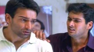 Uday Kiran, Jatin Sentiment Scene  - Nee Sneham Telugu Movie Scenes
