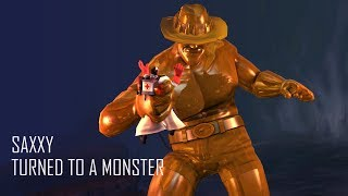 Saxxy turns into a monster [SFM]