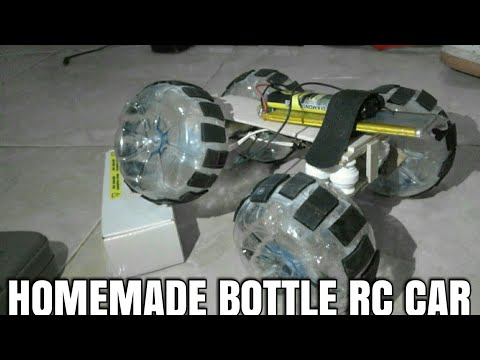 Make RC CAR Offroad 4WD From Bottle