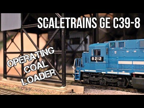 ScaleTrains' NEW C39-8, NS Coal Train, and Operating Coal Loader