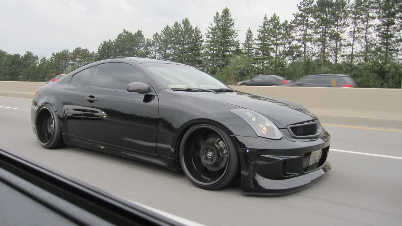 Infiniti G and Nissan Z Cruise and Meet Movie - YouTube
