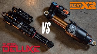 RockShox Super Deluxe vs Fox Float X2 | Which is best for you?