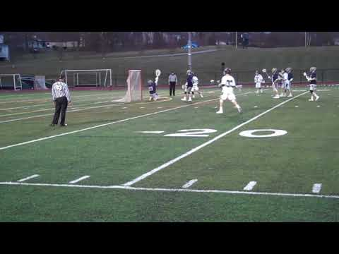 Nichols College men's lacrosse vs Rivier 2-28-18