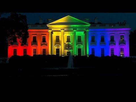 Rainbow White House Celebrates Same-sex Marriage Ruling