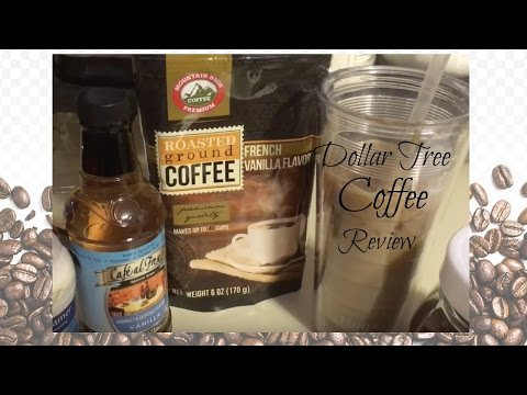 DOLLAR TREE COFFEE REVIEW