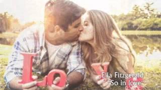 Ella Fitzgerald - So in love (Tan enamorado)