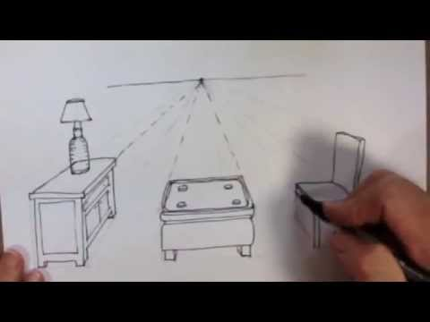 CEU Furniture Sketch Techniques Page