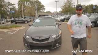 Autoline's 2010 Acura TSX 2.4 Walk Around Review Test Drive