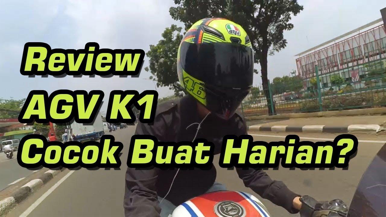 Begini Rasanya Pakai Helm Agv K1 Review Helm Agv K1 Youtube