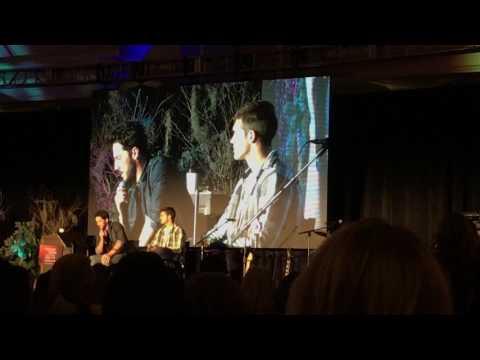 TVD NJ Convention 2017 - Michael Trevino & Steven R McQueen