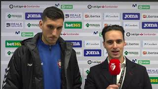 Declaraciones de S. Herrera tras el Getafe - Osasuna