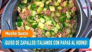 ¡Te enseñamos a preparar un rico guiso de zapallo italiano! - Mucho Gusto 2018