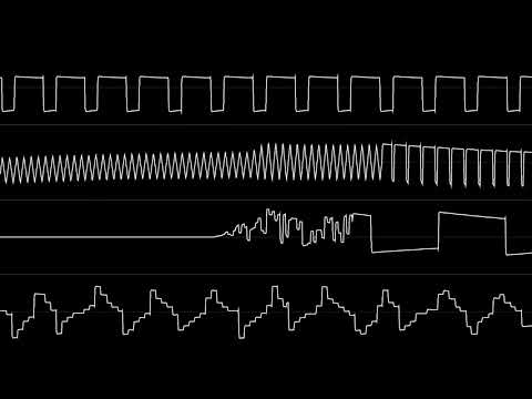 "Rob Hubbard - ""Skate or Die (C64) - Intro"" [Oscilloscope View]"
