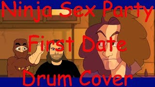 ninja sex party-first date drum cover
