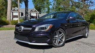 2014 Mercedes CLA and CLA 45 AMG review