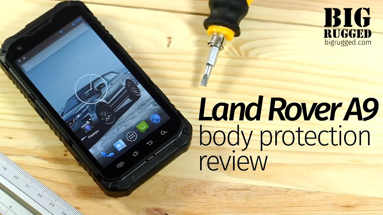 land rover a9 ultra rugged smartphone body review hd youtube. Black Bedroom Furniture Sets. Home Design Ideas