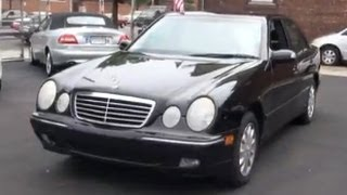 2002 Mercedes-Benz E-Class E320 4Matic All-Wheel-Drive