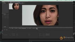 skinworks ファンデーション Adobe AE チュートリアル 応用