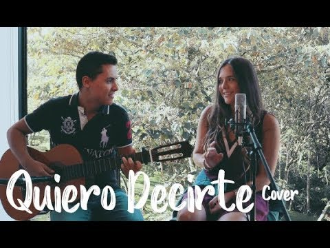 QUIERO DECIRTE - Sebastián Yatra (Cover J&A)