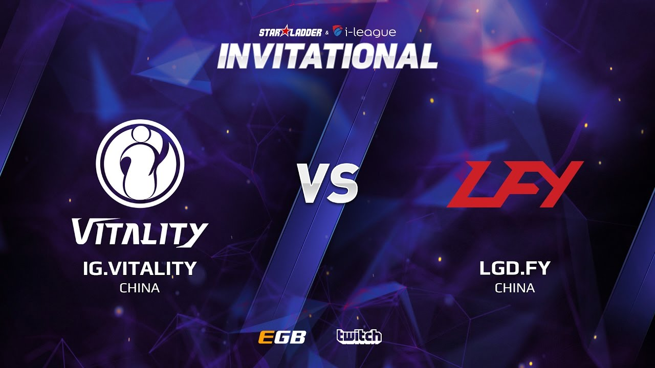 IG.Vitality vs LGD.FY, Game 2, SL i-League Invitational S2, CN Qualifier