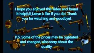 Team Fortress 2 Australium Price List