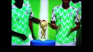 The Super Eagles of Nigeria Wins the 2018 World Cup in Russia.