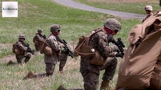 US Marines - Warrant Officer Basic Course Live-fire Platoon Field Exercise