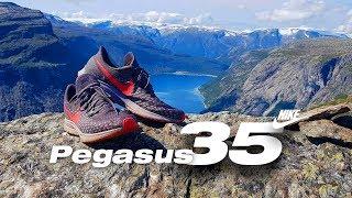 Обзор новых беговых кроссовок NIKE PEGASUS 35