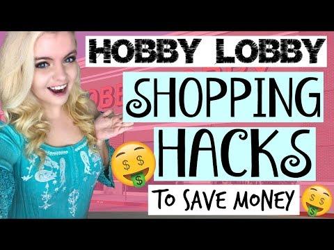 HOBBY LOBBY SHOPPING HACKS! TIPS & TRICKS TO SAVE MONEY 2018