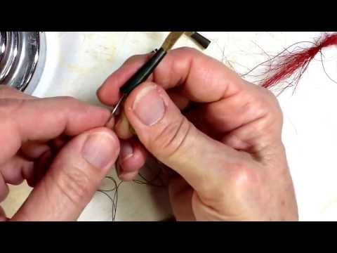 How to make deer hair cone drops.