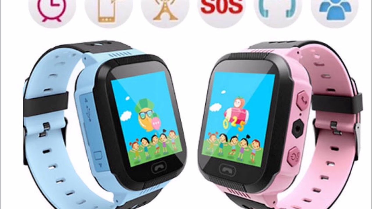 06801e699ec Child Safety GPS Tracker Smart Watch - 2 Colours - YouTube
