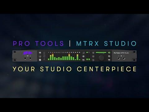 Introducing Avid Pro Tools   MTRX Studio