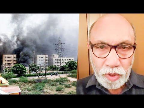 Thoothukudi நெஞ்ச பதுற வைக்குது!  Sathyaraj Angry on Sterlite Issue