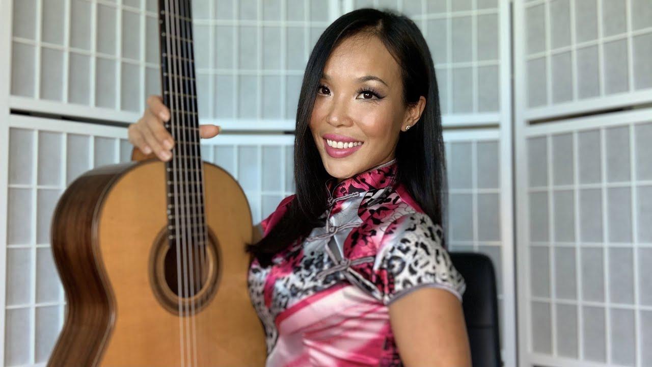 Harmonics   Classical Guitar Tutorial by Thu Le